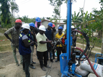 Training drillers on the LS300H+ technology