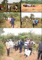 Dutch Embassy visits proposed site for a compost plant in Yilo Krobo MA.