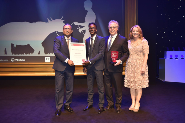 WaterHealth awarded the prestigious Unilever Global Development Award